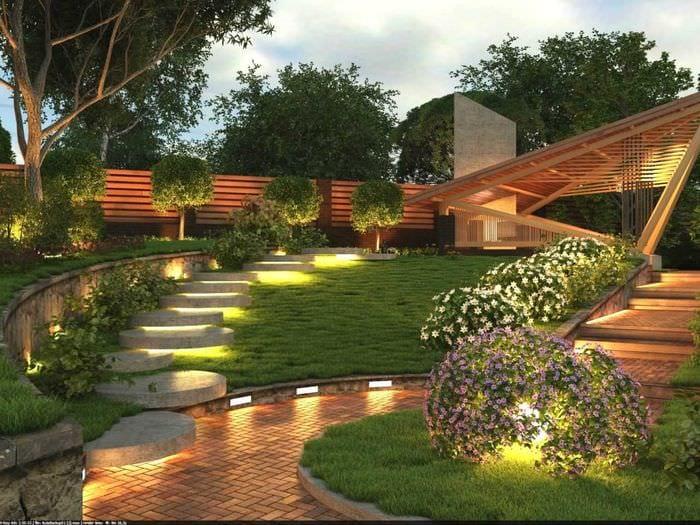 идея использования необычных растений в ландшафтном дизайне дома
