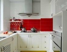 пример использования красивого декора кухни фото