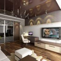 идея необычного декора двухкомнатной квартиры фото