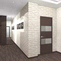 пример красивого дизайна двухкомнатной квартиры картинка