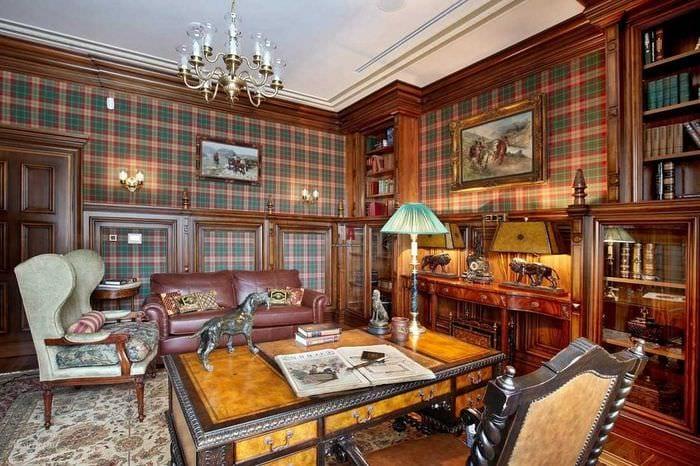 вариант светлого дизайна квартиры в романском стиле