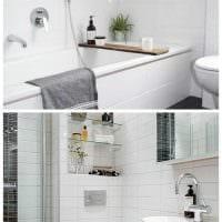 идея светлого интерьера квартиры в скандинавском стиле фото