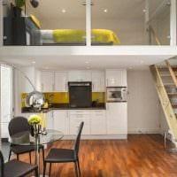 идея красивого стиля маленькой комнаты в общежитии фото