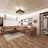 идея светлого декора двухкомнатной квартиры картинка