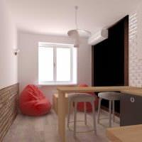 пример необычного стиля кухни 8 кв.м картинка
