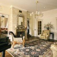 вариант необычного стиля квартиры в романском стиле картинка
