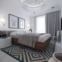 вариант необычного дизайна комнаты в скандинавском стиле картинка