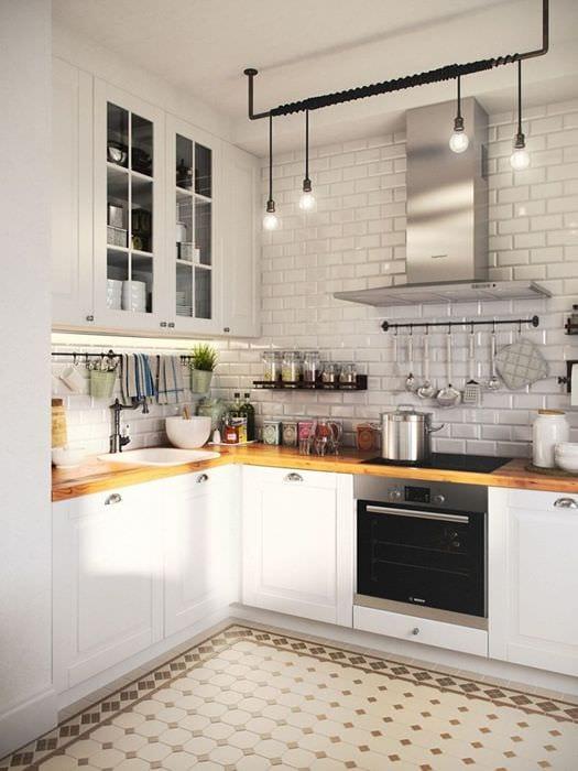 идея необычного дизайна квартиры в скандинавском стиле