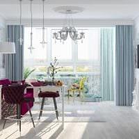 вариант светлого интерьера квартиры фото