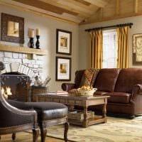 идея яркого интерьера дома в романском стиле фото