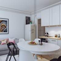 вариант красивого декора квартиры в скандинавском стиле фото