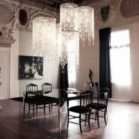 идея необычного дизайна квартиры в романском стиле фото