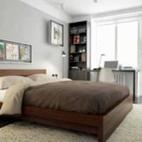 пример необычного интерьера двухкомнатной квартиры картинка