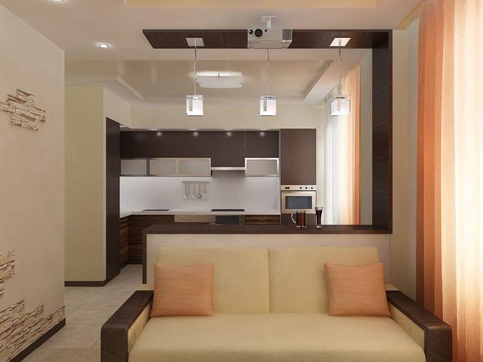 Дизайн двухкомнатной квартиры - фото модных новинок