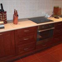 идея яркого декора кухни 14 кв.м картинка