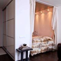 идея яркого стиля квартиры студии фото
