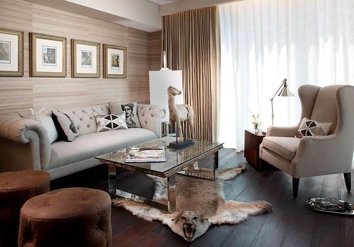 вариант яркого декора квартиры в скандинавском стиле
