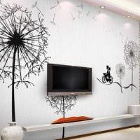 идея яркого дизайна дома с росписью стен картинка