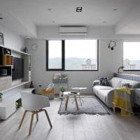 вариант яркого декора комнаты в скандинавском стиле картинка