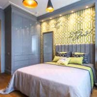 идея светлого дизайна спальни для девочки в современном стиле картинка