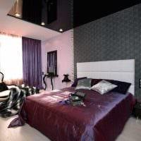 идея необычного сочетания цвета в дизайне современной комнаты фото