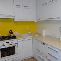 идея светлого декора кухни 14 кв.м фото