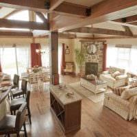 идея красивого стиля дома в романском стиле картинка
