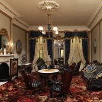 идея яркого декора квартиры в романском стиле картинка