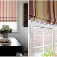 идея использования современных штор в красивом декоре комнате картинка