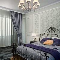 пример использования современных штор в ярком декоре квартире фото