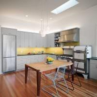 пример применения красивого дизайна комнаты в стиле ретро картинка