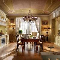 идея использования светового дизайна в ярком декоре дома фото