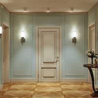 вариант применения светового дизайна в красивом интерьере дома фото