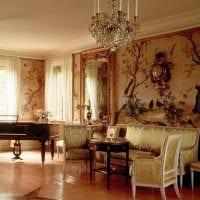 вариант светлого дизайна дома в романском стиле фото