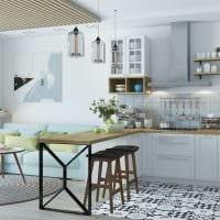 идея красивого стиля квартиры в скандинавском стиле фото