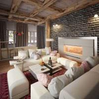 вариант светлого дизайна квартиры в романском стиле фото