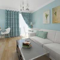 вариант необычного интерьера комнаты в скандинавском стиле картинка