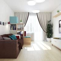 вариант необычного дизайна детской комнаты 18 кв.м. фото