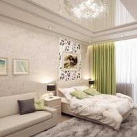 идея светлого дизайна детской комнаты 18 кв.м. фото