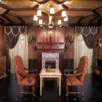 вариант яркого декора квартиры в романском стиле картинка