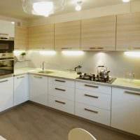 идея красивого стиля кухни 9 кв.м картинка