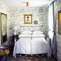 идея красивого декора малогабаритной комнаты картинка