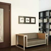 идея яркого сочетания цвета в интерьере современной квартиры фото