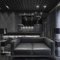 идея яркого сочетания цвета в декоре современной квартиры картинка