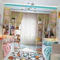 идея необычного интерьера комнаты для девочки 12 кв.м фото