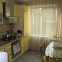 идея красивого декора кухни 8 кв.м картинка