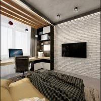 идея яркого декора спальни для молодого человека картинка