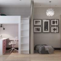 вариант яркого дизайна комнаты в скандинавском стиле фото