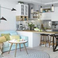 вариант красивого дизайна квартиры в скандинавском стиле фото