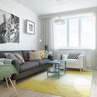 идея необычного декора комнаты в скандинавском стиле картинка